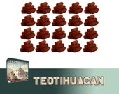 Teotihuacan 20x Deluxe Wood Tokens Board Game