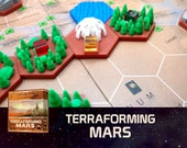 Terraforming Mars Capital Tile Board Game