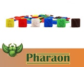 Pharaon 120x Deluxe Tokens Resource Board Game