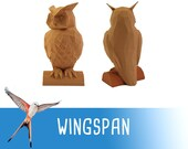 Wingspan Owl First Player Token Board Game
