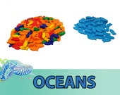 Oceans 240x Deluxe Fish Tokens Board Game