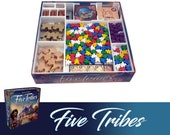 Five Tribes + Expansions Board Game Insert