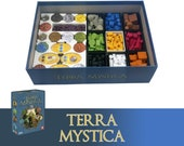 Terra Mystica + Expansion Board Game Insert