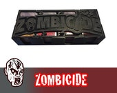 Zombicide Regular Seasons Card Box Magnetic Lid Board Game