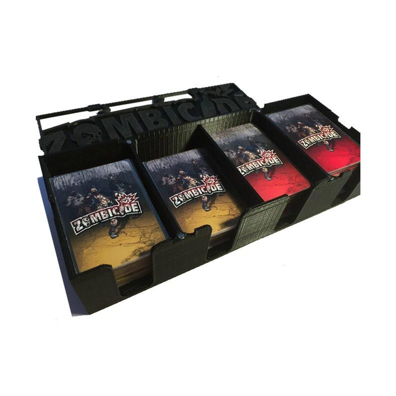 Zombicide Regular Seasons Card Box Magnetic Lid Board Game