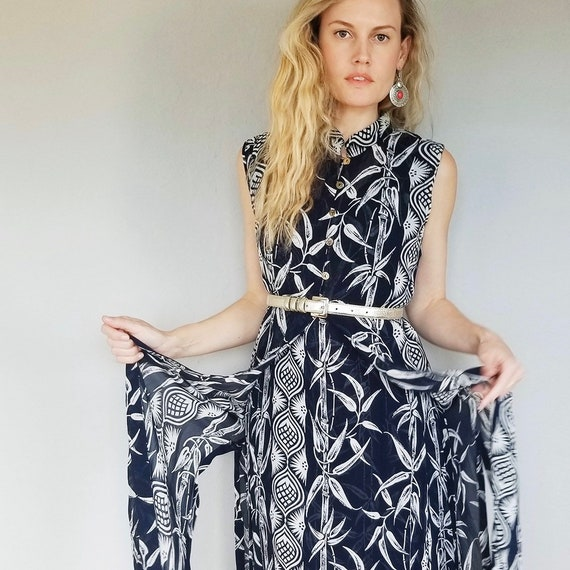 Vintage Tunic Two Piece Dress | Bamboo | Two Piece