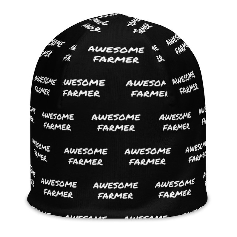 Farming Slouch Beanie Printed Job  Occupation Slouchy Beanie for Man Woman Teen Farm Worker Hat Horticulture Slouch Cap Awesome Farmer