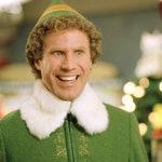Buddy the Elf inspired wreath