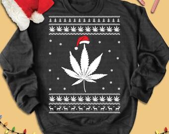 Cannabis ugly shirt | Etsy