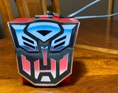 Vintage Transformers AM Transistor Radio 1984 Optimus Prime Autobot Freedom Fighter, Made In Hong Kong Transformers AM Radio 1984