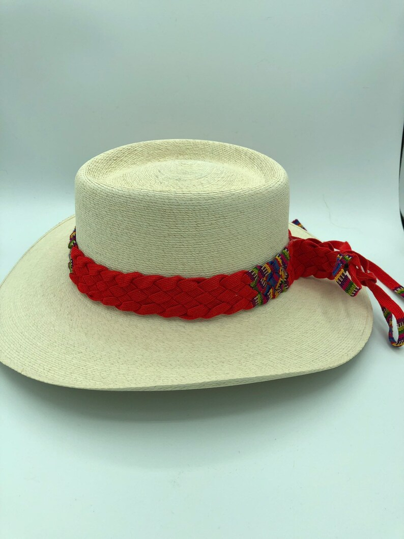 Handmade woven Palm Leaf handmade colored braided band-gifts for her-birthday-vacation-sun hat-