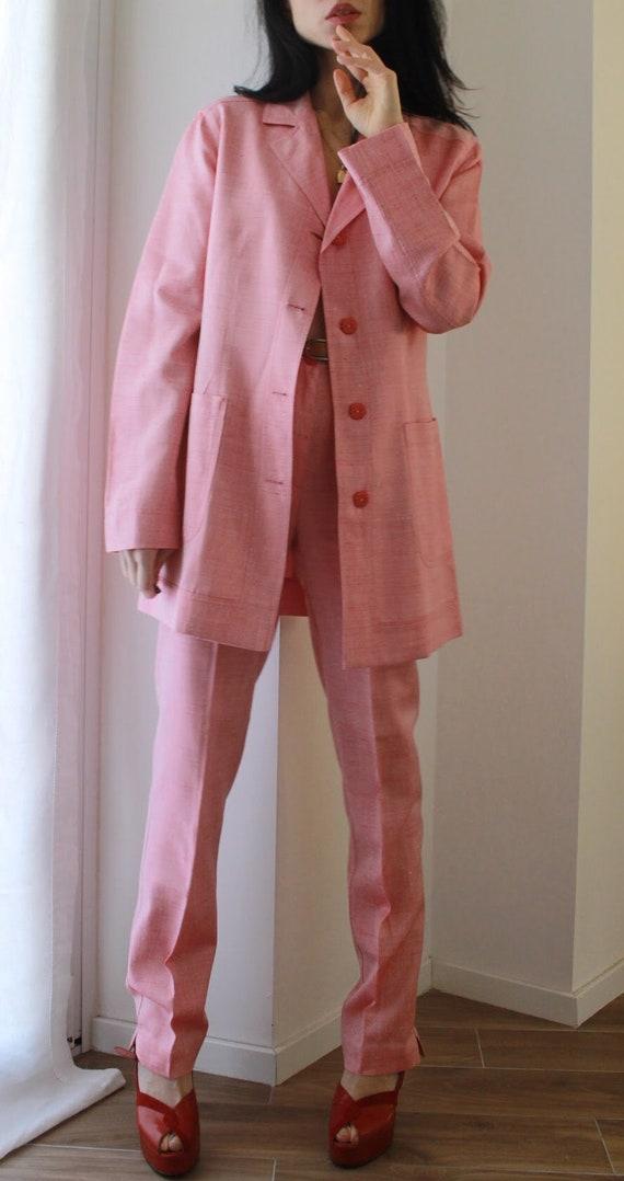 Vintage 90s Byblos spring summer pant suit