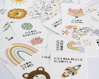 Children Affirmation Cards | Encouragement | Children encouragement cards | Birthday Gift - Encouragement Cards for Kids