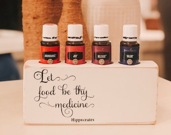 Hippocrates ~ Essential Oil Block ~ Oil Storage ~ Oil Shelf ~ 15ml ~ Young Living ~ Team gifts