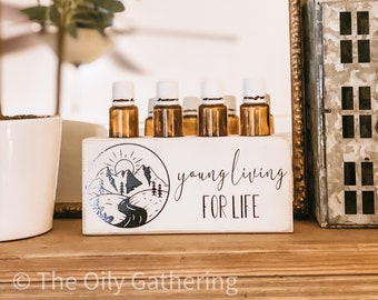 Young Living For Life ~ Essential Oil Block ~ Oil Storage ~ Oil Shelf ~  5ml to 15ml ~ Young Living