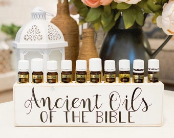 Ancient Oils of the Bible ~ Oil Storage ~ Oil Shelf ~ 5ml ~ Young Living