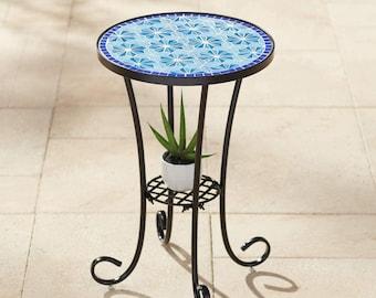 Mosaic Table Etsy