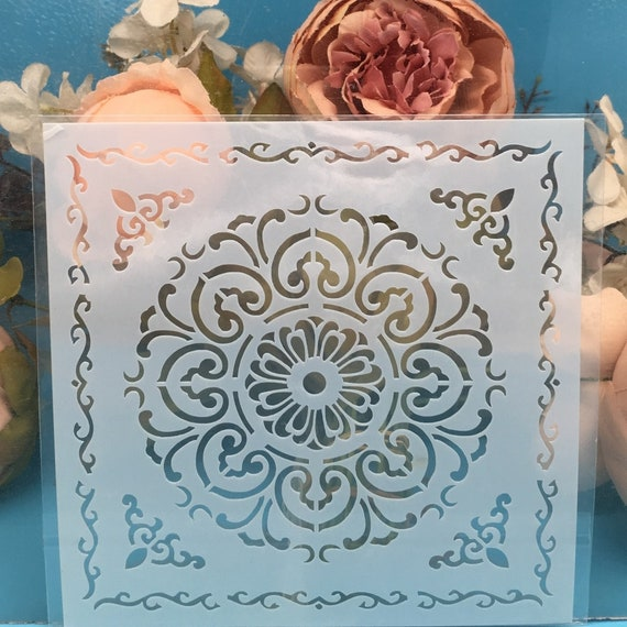 Cloud Stencils Template Painting Scrapbooking Embossing Stamping Album Card DIY
