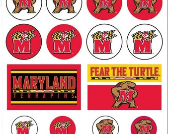 University of Maryland Terrapins NCAA Collegiate 4 Inch Vinyl Decal