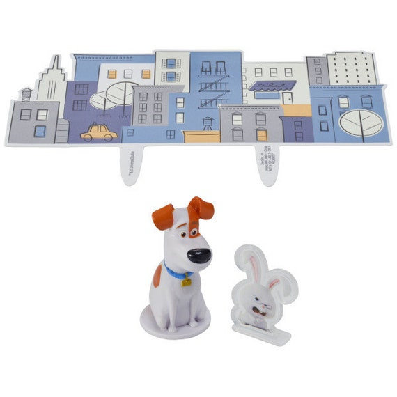 Secret Life Of Pets Max /& Snowball DecoPac 7947 Birthday Party Cake Topper