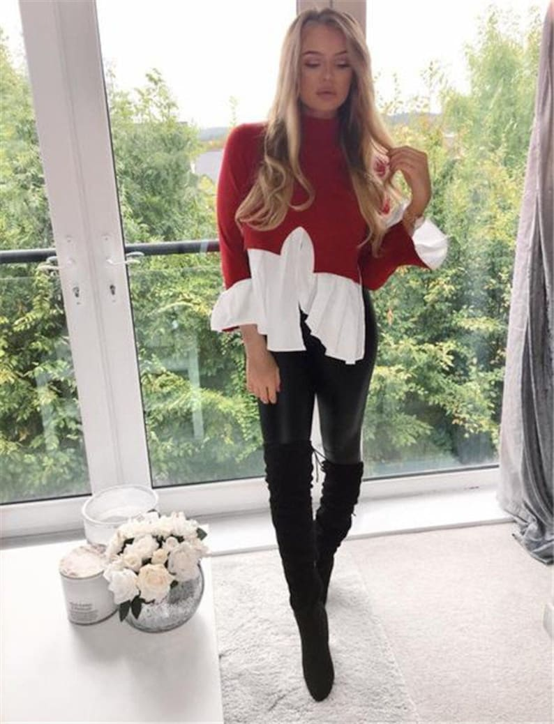 Guaranteed delivery within 4 working days after dispatch Designer genuine  leather  Handmade  Leather Legging for woman