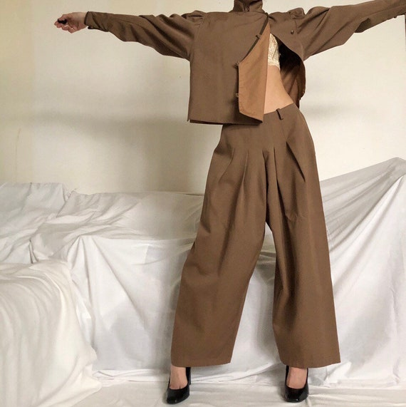 Vintage Late 70s Kenzo two piece suit - image 2