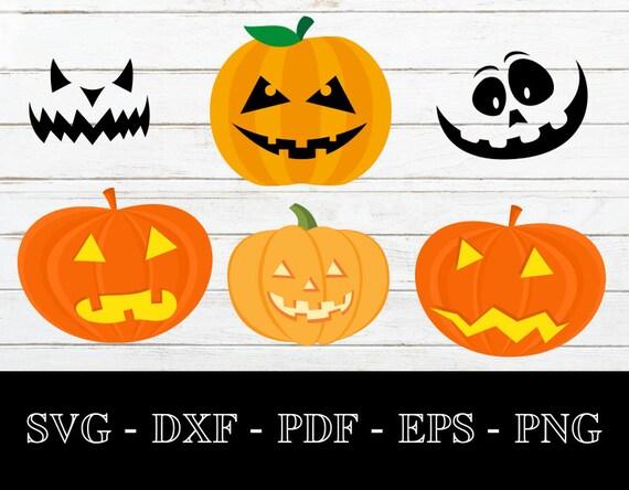 Jack-o-Lantern SVG PNG Cut file DXF