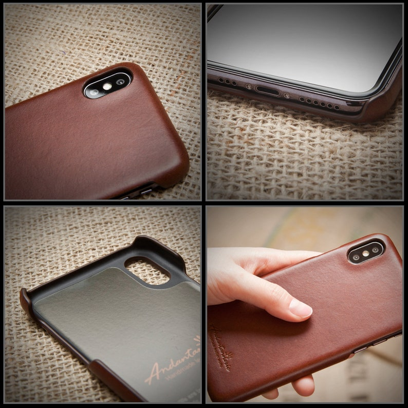 Note20 and Note10 series /& All Other Models by Andantannerie Premium Leather Buttero Phone Case for Galaxy S21 series iPhone 12 series