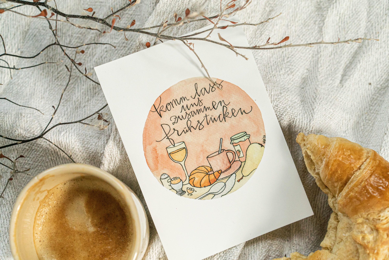 Spruch frühstück einladung zum Einladung zur