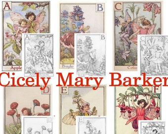 Preview some flower fairies by cicely mary barker | 270x340