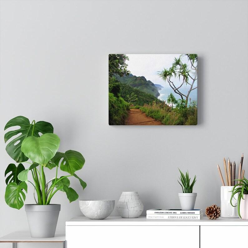 Napali Coast Canvas Gallery Wraps