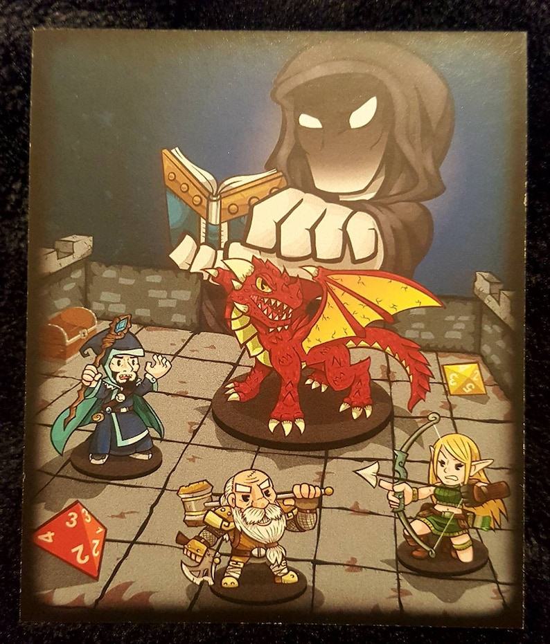 D/&D Dungeons and Dragons Skull Skeleton Dice Enamel Lapel Pin D20 DCC Pathfinder Gamer Pin