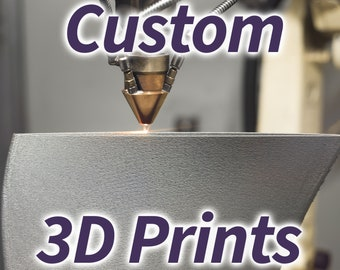 Custom 3D Print service   Custom CAD Design   Prototyping Functional Parts   End-Use Products