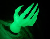 Glowing Horror Halloween Witch Hand Home Decor | Glow in the Dark | Scary | Halloween 2021