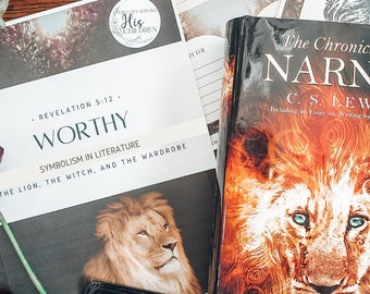 ESV The Lion, the Witch, and the Wardrobe Study / Homeschool Language Arts / Chronicles of Narnia Printable / Charlotte Mason Homeschool