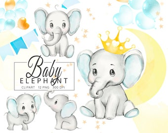 Baby Elephant Png Etsy Download the free graphic resources in the form of png, eps, ai or psd. baby elephant png etsy