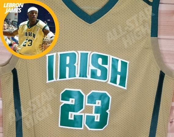 lebron james irish jersey