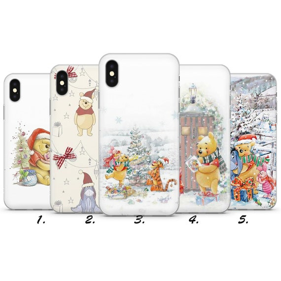 Christmas Winnie The Pooh iphone case