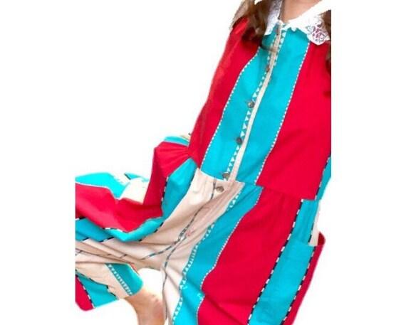 Vintage LAURA ASHLEY Jumpsuit. Unworn Genuine 1980