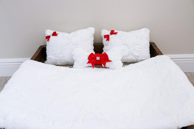 Christmas Dog Blanket and Pillow Set