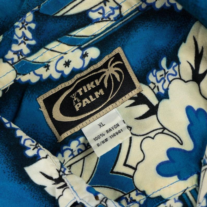 Vintage Traditional Style Hawaiian Shirt XL Sz