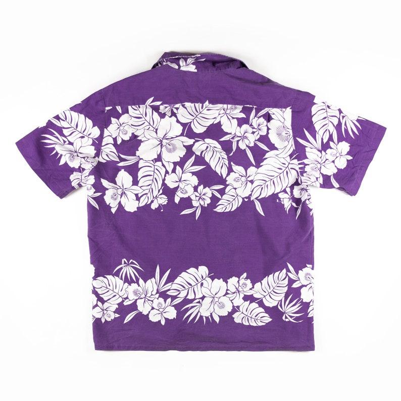 1970s Vintage Hawaiian Shirt Made in Hawaii L Sz