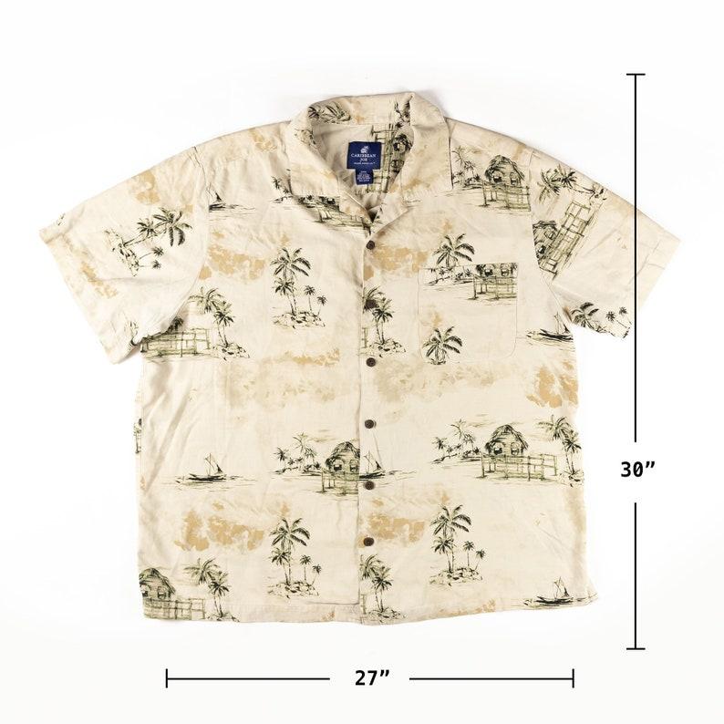 Caribbean Joe Hawaiian Print Shirt XXXL Size