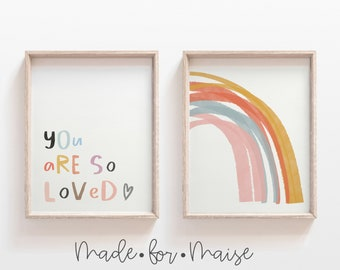 You Are So Loved Etsy