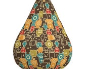 Tiny Cute Lifeforms - All-Over Print Bean Bag Chair Cover