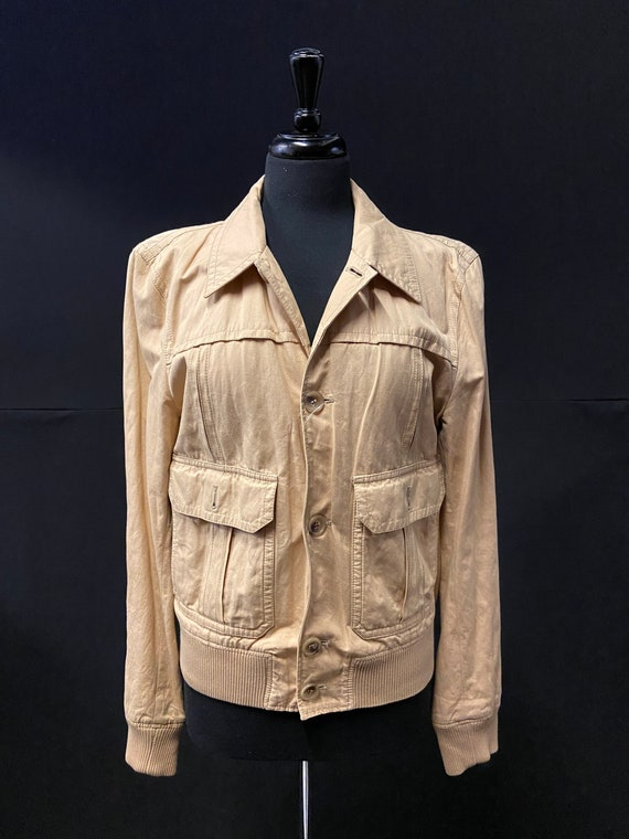 1990's D&G Cotton Bomber Jacket