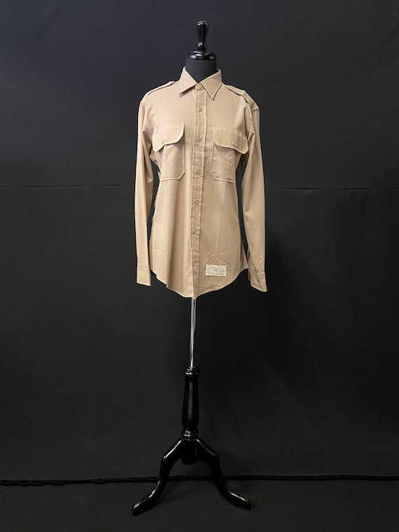 1940's Khaki Military Shirt