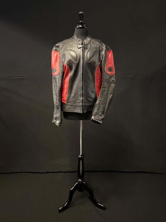 1990's Leather Racer Jacket