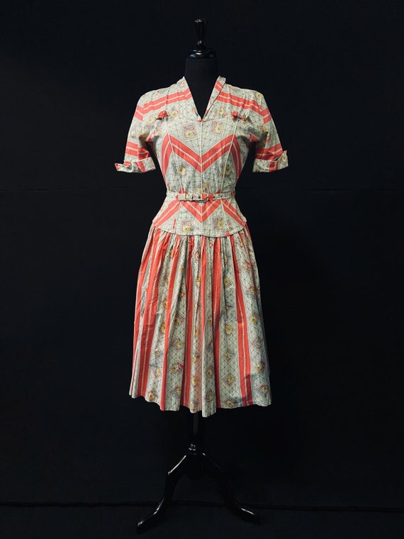 Pretty 1950's Summer Dress