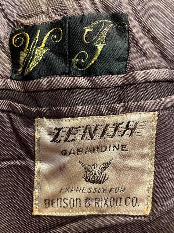 1940's Gabardine Sports Jacket - image 6